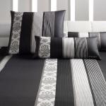 JOOP! Bettwäsche Ornament Stripes 4022-09 schwarz