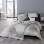 Estella Mako-Interlock-Jersey Bettwäsche Ari 6847-820 silber 100 % Baumwolle