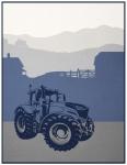 Biederlack Decke Young & Fancy Tractor 150 x 200 cm aus Baumwollmischung