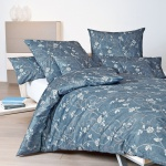 Janine Interlock-Feinjersey Bettwäsche Carmen 53033-02 mondlichtblau