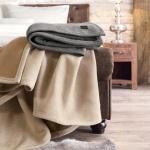 s.Oliver Jacquard Decke Premium 140 x 200 cm Baumwollmischung