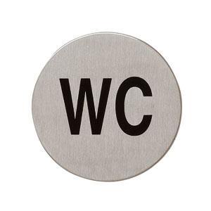 Edelstahl Piktogramme - WC - Piktogramm Hinweisschild - Vorschau 1