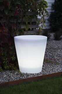 LED Pflanztopf LUMUS - Pflanzkübel 37 x 40 x 37 cm (B x H x T)