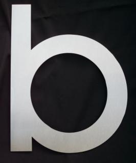 Edelstahl Hausnummer 3XL - Nr. b / Hausnummern