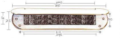 SKANDIA / Briefeinwurf Briefklappe Innenbriefklappe - Vorschau 3