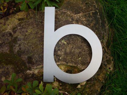 Edelstahl Hausnummer 3XL - Nr. b / Hausnummern - Vorschau 2