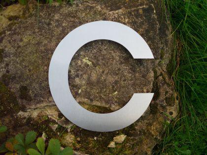 Edelstahl Hausnummer 3XL - Nr. c / Hausnummern - Vorschau 2