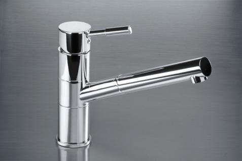 Single lever kitchen mixer with the pull-out head VEGANE chrom