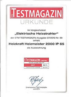 HeizMeister 1500 IP 65 Professionell - Vorschau 2
