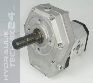 Zapfwellengetriebe m. Stummel & Pumpe Gr. 3