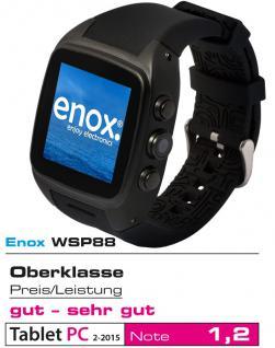 Enox WSP88 3G Android Smartwatch Smartphone Handyuhr SIM Karte WLAN Kamera GPS Navigation Bluetooth - Vorschau 1