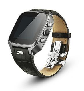 Enox WSP8802 40GB Android Smartwatch Handyuhr SIM WLAN 5MP Kamera GPS Bluetooth Schwarz - Vorschau 3