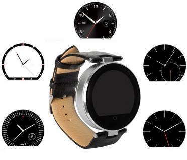 Enox RSW55 Bluetooth 4.0 Smartwatch rund Handyuhr kompatibel mit iOS Android SI - Vorschau 4