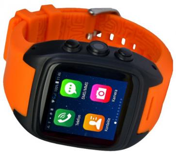 Enox ORANGE WSP88 3G Android Smartwatch Smartphone Handyuhr SIM Karte WLAN Kamera GPS Navigation Bluetooth - Vorschau 3