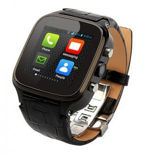 Enox WSP8802 40GB Android Smartwatch Handyuhr SIM WLAN 5MP Kamera GPS Bluetooth Schwarz - Vorschau 2