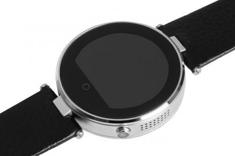 Enox RSW55 Bluetooth 4.0 Smartwatch rund Handyuhr kompatibel mit iOS Android SI - Vorschau 2