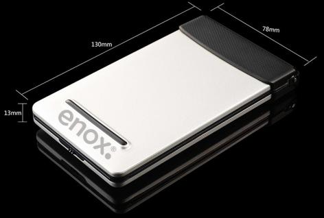 ENOX KeyFold KFB100 Wireless Bluetooth Keyboard Tastatur für iPhone iOS Android Tablet PC Smart TV - Vorschau 2