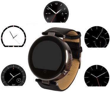 Enox RSW55 Bluetooth 4.0 Smartwatch rund Handyuhr kompatibel mit iOS Android SW - Vorschau 5