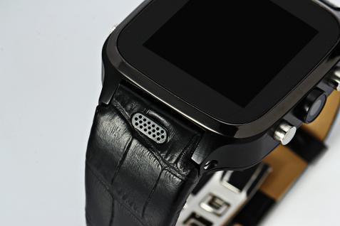 Enox WSP8802 40GB Android Smartwatch Handyuhr SIM WLAN 5MP Kamera GPS Bluetooth Schwarz - Vorschau 4