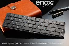 ENOX KeyFold KFB100 Wireless Bluetooth Keyboard Tastatur für iPhone iOS Android Tablet PC Smart TV