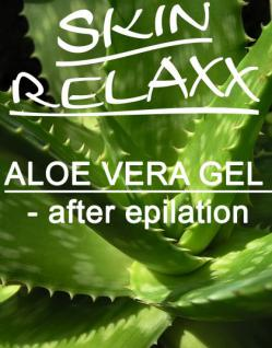WILLEMI Aloe Vera Gel-after epilation- Zuckerpaste