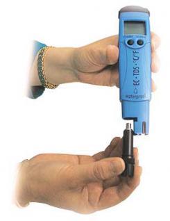 Taschenmessgerät für EC / TDS und °C