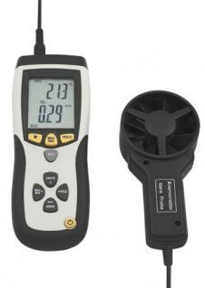 Flügelradanemometer mit Temperaturanzeige - Vorschau