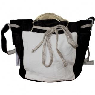 Damen Trachtentasche Dirndl Taschen Trachten ledertasche Schwarz - Vorschau 2