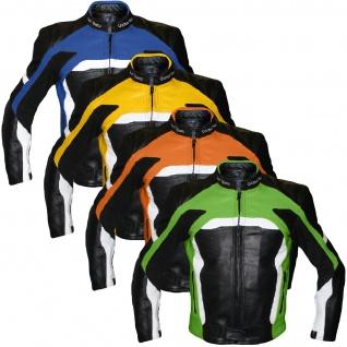Motorradjacke Lederjacke Biker lederjacke Büffelleder
