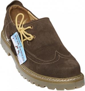 Haferlschuhe Trachtenschuhe Brogue Trachten Schuhe echtleder wildleder Braun