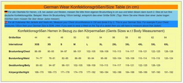 German Wear, Motorradjacke aus Textilien in großen Größen Kombigeeignet Gr. 6XL, 7XL, 8XL - Vorschau 5