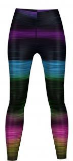 Variants Leggings sehr dehnbar für Sport, Gymnastik, Training & Fashion Schwarz