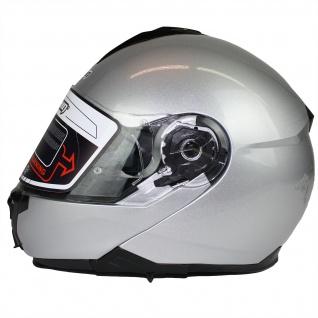 Marushin M-310 Motorrad Helm Klapphelm Sonnenblende sportliche Tourenfahrer - Vorschau 5