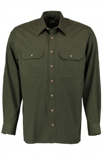 Jagdhemd hemd jäger Hemd Langarm Hemd - Vorschau 1