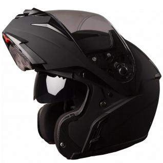Marushin M-410 Motorrad Helm Klapphelm Sonnenblende komfortabler sportliche Tourenfahrer