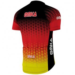 OMKA Herren Radtrikot Fahrrad Radler-Trikot Racing Performance Shirt mit Sublimationsdruck - Vorschau 3