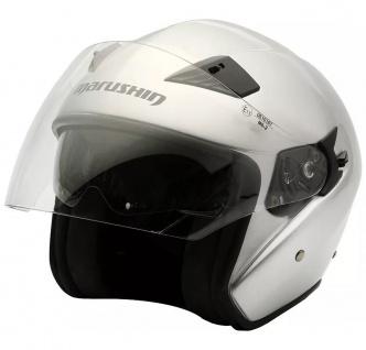 Marushin M-610 Motorrad Helm Jethelm Sonnenblende sportliche Tourenfahrer - Vorschau 3