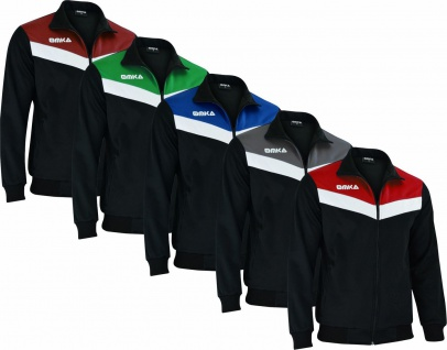 OMKA Optima Herren Trainingsjacke Sportjacke Joggingjacke in der 5x Farben