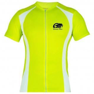 Trikot Radtrikot Fahrradtrikot Fahrrad Radler-Trikot Shirt Jersey NeonGelb