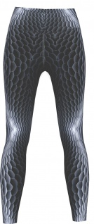 Viper Leggings sehr dehnbar für Sport, Yoga, Gymnastik, Training & Fashion Grau