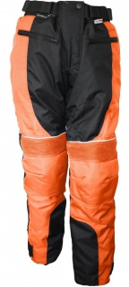 German Wear, Damen Motorradhose Textil hose Kombigeeignet Orange