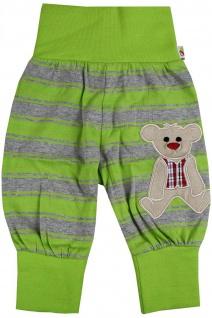 Pumphose Schlupfhose Babyhose elastischer Bund Handmade Teddybär