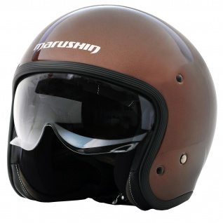 Marushin C-149 Motorrad Helm Jethelm Premium Line Halbschalenhelm - Vorschau 3