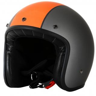 Marushin C-131 Motorrad Helm Jethelm Premium Line Halbschalenhelm - Vorschau 2