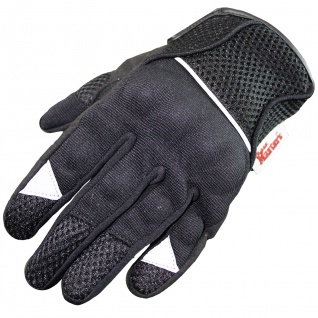 RadMasters , Motocross Motorradhandschuhe Biker Handschuhe Textilhandschuhe Schwarz