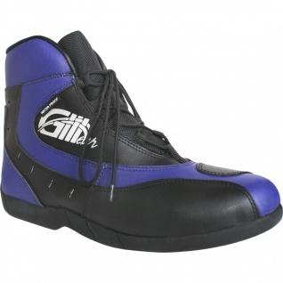 Motorrad Trends bikers Stiefel Motorradstiefel Stiefelette Blau/Schwarz 18, 5cm - Vorschau 5
