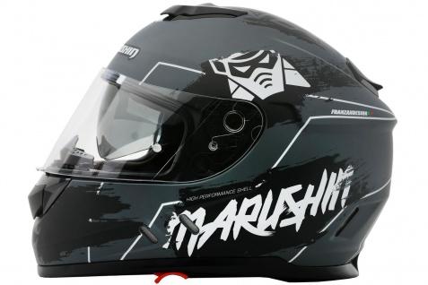 Marushin 889 Comfort Warrior Motorrad Helm Integralhelm sportliche Tourenfahre - Vorschau 4