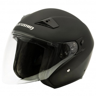 Marushin M-610 Motorrad Helm Jethelm Sonnenblende sportliche Tourenfahrer - Vorschau 4