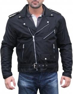 Chopper Motorradjacke Rockabilly Rockerjacke Brando Motorrad Textilien Jacke