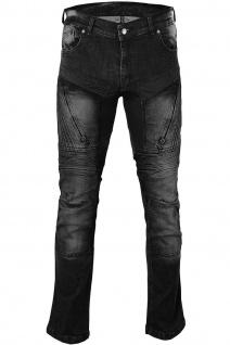 BULLDT Damen Motorradjeans Motorradhose Denim Jeans Hose Futter Abriebfest aus Aramidfasern Jeans inkl. Protektoren - Vorschau 2